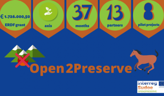 #Interreg30: Open2Preserve, recovering our mountains